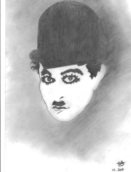 Charlie Chaplin by Alex2B